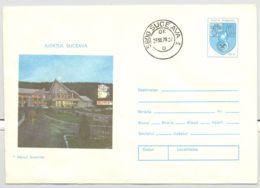 TOURISM, SUCEVITA INN, COVER STATIONERY, ENTIER POSTAL, 1978, ROMANIA - Holidays & Tourism