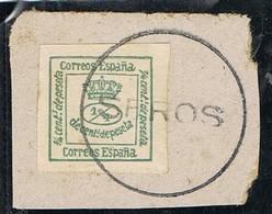 Sello 1 Cuartillo 1877, Carteria Especial SEROS (Lerida), Num 173 º - 1875-1882 Kingdom: Alphonse XII