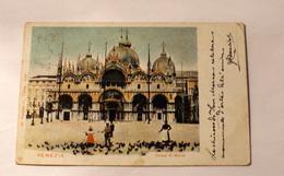 ITALIA 1906, PIAZZA SAN MARCO,  BELLA AFFRANCATURA - Venezia