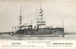 CHARLES-MARTEL - CUIRASSÉ À TOURELLES - Krieg