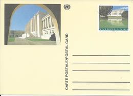 Onu, United Nations, Nations Unies,genève, Entier Postal 1993, Carte Neuve, 0.80 Fs , Palais Des Nations - Briefe U. Dokumente