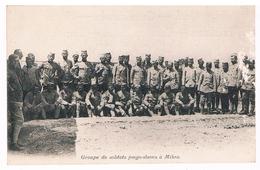 CPA : Groupe De Soldats Yougoslaves à MIKRA (Thessalonique) Grupa Zolnierzy Poludniowo Slowakow W Miksze - Weltkrieg 1914-18