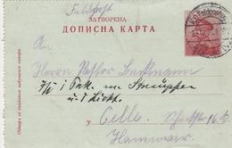 Serbie Entier Postal 1915 - Serbie