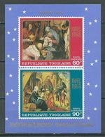 Togo Bloc-feuillet YT N°34 Noel 1968 Neuf ** - Togo (1960-...)