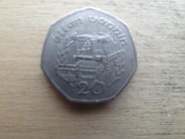 Ile De Man 20  Pence  1992  Km 211 - Regional Coins
