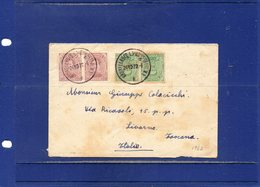 ##(ROYBOX1)-Postal History-Belgium 1922-Cover From Bruxelles To Livorno - Italy - België