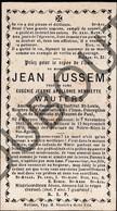 Doodsprentje Jean Lussem °1815 Kerpen (Prusse Rhénane) †1879 Malines /Eugénie J-A-H Wauters (F219) - Obituary Notices