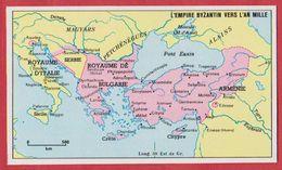 L'Empire Byzantin Vers L'an Mille. 1970. - Vieux Papiers