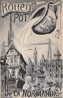 76 - Rouen -  Le Pot De La Normandie - 1925 - Rouen