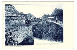 PANAMA - Canal De Panama - Excavaciones En El Paso Obispo - Ed. Maduro E Hijos, Panama - Panama