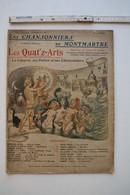 Les Chansonniers De Montmartre, N° Spécial, Les Quat'z-Arts, 1906, Illustrations De Léandre, De Scevola, Ochs... - Scores & Partitions