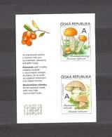 Czech Republic 2018 MNH ** Mi 984-985 Mushrooms. The Orange Birch Bolete And The European Blusher. - Tchéquie