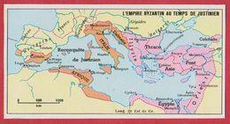 L'Empire Byzantin Au Temps De Justinien. 1970. - Vieux Papiers
