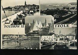 WD121 POZDRAV IZ IZOLE - Jugoslavia