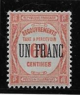 France Taxe N°63 - Neuf * Avec Charnière - TB - Segnatasse