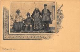 Judaica - IRAN - Famille Juive à Salmas - Jewish Family In Slmas - Stamped Postcard. - Judaisme