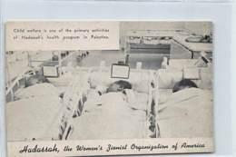 Judaica - ISRAEL - Hadassah, The Women's Zionist Organization Of America - Child Welfare. - Judaisme
