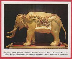 Éléphant En Or, Musée De Topkapi. 1970. - Vieux Papiers
