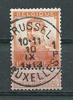 116 Gestempeld BRUSSEL - BRUXELLES 1 P - 1912 Pellens