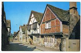 CPM : LACOCK  Old Houses - Angleterre
