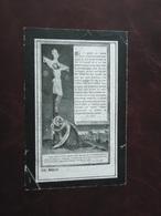 Rosalie Dewulf - Dezwarte Geboren Te Woumen 1848 En Overleden 1921  (2scans) - Godsdienst & Esoterisme