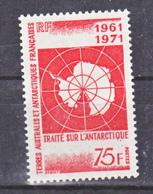 TAAF    39  Traité De L'antactique  Neuf ** MNH Sin Charmela Cote 44 - Terres Australes Et Antarctiques Françaises (TAAF)
