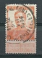 116 Gestempeld BRUSSEL ND - BRUXELLES ND - 1912 Pellens