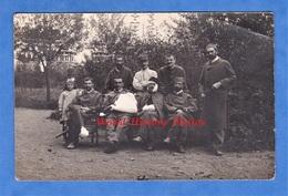 CPA Photo - à Situer - Portrait De Soldat Blessé & Petite Fille - Spahi ? Tirailleur ? Colonial ? Voir Uniforme Poilu WW - Weltkrieg 1914-18