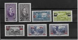 Grand Liban N°157/163 - Neuf * Avec Charnière - TB - Grand Liban (1924-1945)