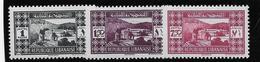 Grand Liban N°164/166 - Neuf * Avec Charnière - TB - Great Lebanon (1924-1945)