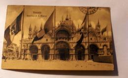 ITALIA 1900,VENEZIA PIAZZA SAN MARCO, AFFRANCATA - Venezia