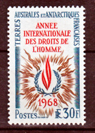 TAAF    27 Droits De L'homme - 25% De Cote   Neuf ** MNH Sin Charmela Cote 100 - Terres Australes Et Antarctiques Françaises (TAAF)