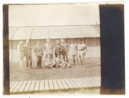 2 Photos Guerre 1914/1915 - Soldats, Officiers - Guerre, Militaire