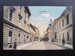 AK TEMESVAR Timisoara Zapolya Utca 1909//  D*35574 - Rumänien