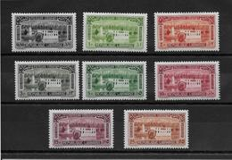 Grand Liban Poste Aérienne N°57/64 - Neuf * Avec Charnière - N°57 Petite Rousseur Sinon TB - Grand Liban (1924-1945)