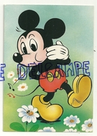 Mickey Sifflote  Pour Faire Sourire Des Marguerites. The Walt Disney Company. Corna Glamo - Autres