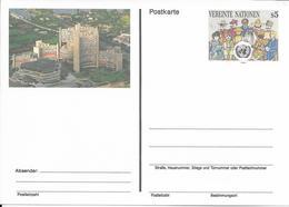 Onu, United Nations, Nations Unies,vienne, Entier Postal 1993, Carte Neuve, 5 S, Centre International De Vienne, - Centre International De Vienne