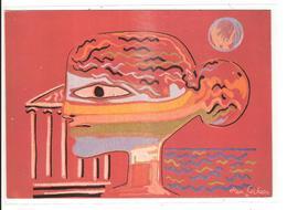 ATELIER RAYMOND PICAUD - GRECS - CARTON DE JEAN COCTEAU - Peintures & Tableaux
