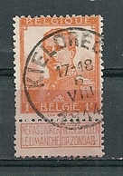 116 Gestempeld KIELDRECHT - COBA 15 Euro - 1912 Pellens