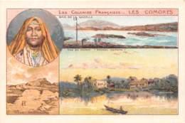 Comores / 12 - Carte Illustrée - Format 10 X 7 Cm - Comoros