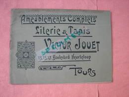 TOURS Catalogue Victor Jouet 12-15-17 Bld. Heurteloup (actuel Le Printemps) Comme Neuf. - France