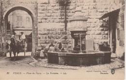 06 - VENCE - Place Du Peyra - La Fontaine - Vence