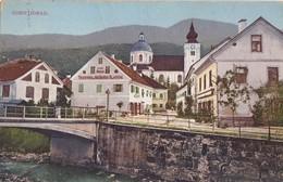Postcard Gornji Grad Slovenia Slovenija Trgovina Josip Prislan - Slovénie