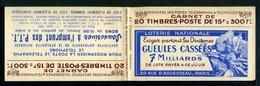 Carnet GANDON N° 813 - Couverture Vide -  Série 2- Nombreux Thèmes. - Booklets