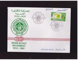 EGITTO - 24 11 1997 BUSTA FDC COMMEMORATIVA SCAUTISMO - Egitto