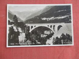 Norway Raumabanen   Bridge  RPPC Ref 3099 - Norway