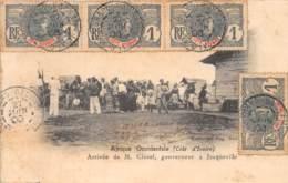 Côte D' Ivoire / Other - 59 - Jacqueville - Arrivée De M. Clozel - Belle Oblitération - Côte-d'Ivoire