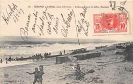 Côte D' Ivoire / Other - 62 - Grand Lahou - Embarquement De Billes D' Acajou - Belle Oblitération - Défaut - Côte-d'Ivoire