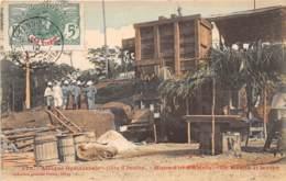 Côte D' Ivoire / Other - 69 - Mines D' Or D' Ahinta - Un Moulin Et Laveur - Belle Oblitération - Côte-d'Ivoire