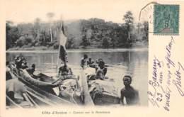 Côte D' Ivoire / Other - 70 - Convoi Sur Le Bandama - Belle Oblitération - Cachet Maritime - Côte-d'Ivoire